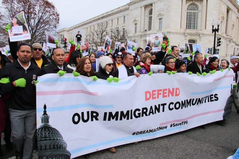 Banner: Defend Our Immigrant Communities
