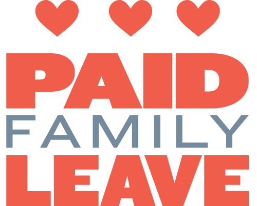 logo that reads: paid family leave