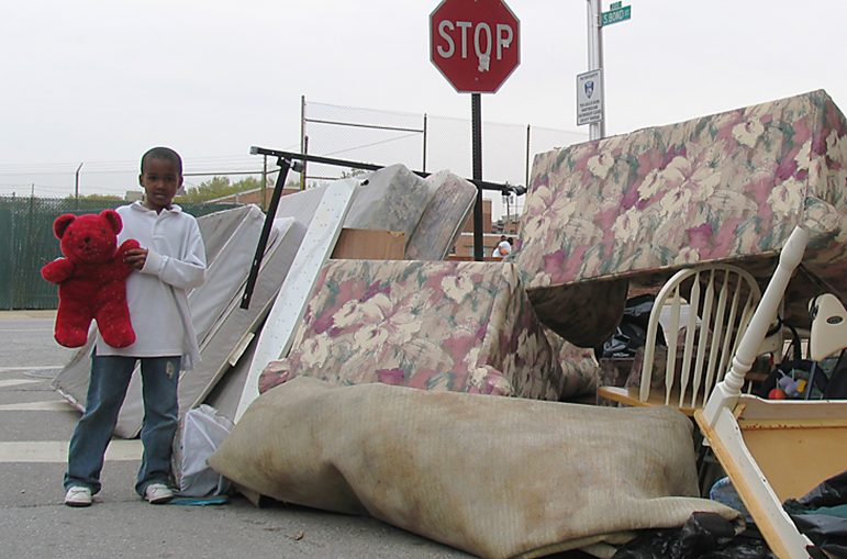 Evicted exhibit photo