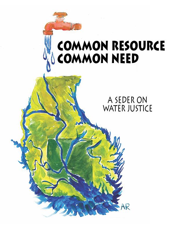 seder on water justice flyer