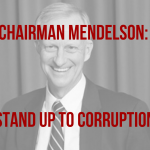 graphic reading chairmen mendelson stand up to corruption
