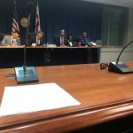 DC Councilmembers and staff at the Racial Equity Achieves Results Act hearing
