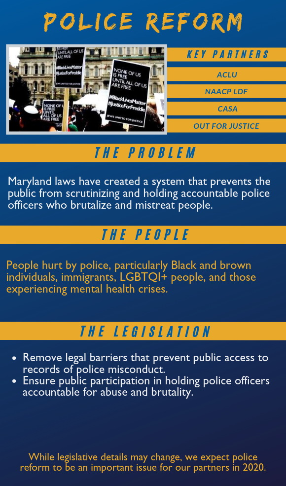 Police Reform: Click to download a readable PDF