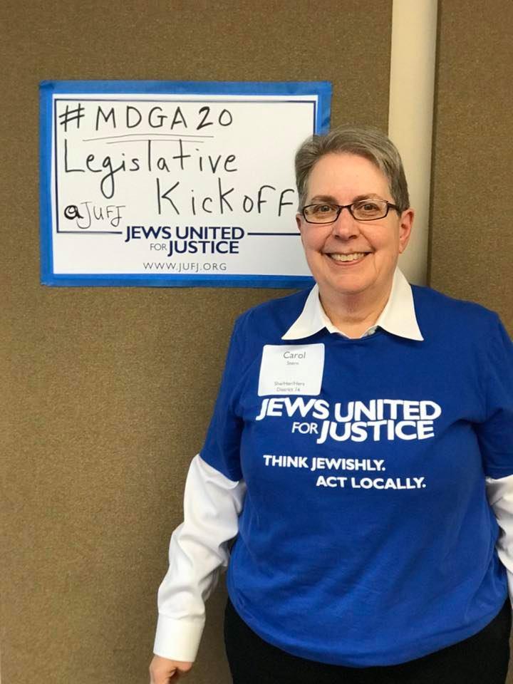 Carol Stern at the 2020 Statewide Legislative Kickoff