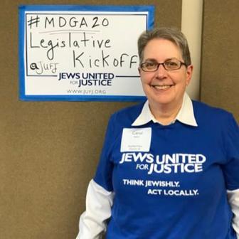 Carol Stern at the 2020 Maryland Legislative Kickoff