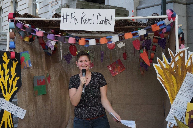 Sukkot Housing Action #FixRentControl