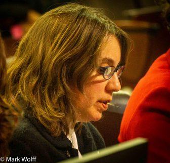 Melissa Coretz Goemann testifying