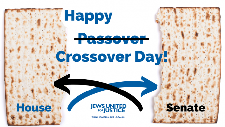 Happy Crossover Day with Matzah
