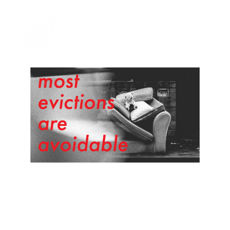 most evictions are avoidable