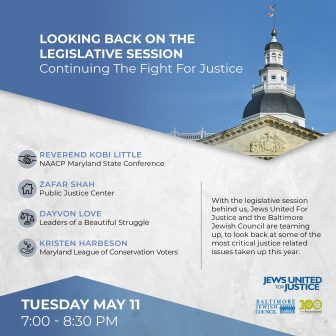 Looking back on the legislative session: continuing the fight for justice