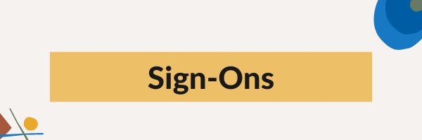 Sign-Ons graphic