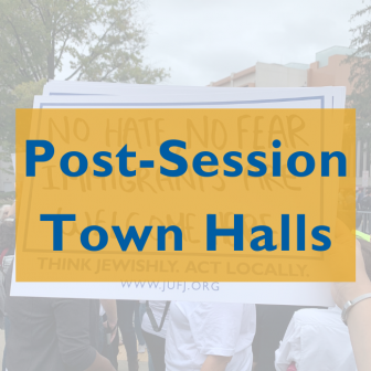 Post-Session Town Halls graphic