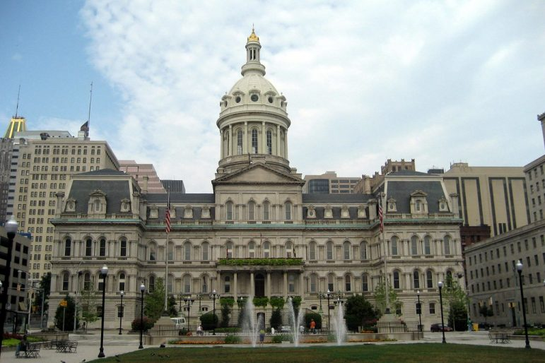 Baltimore City Hall. Photo by Flickr user Wally Gobetz.