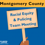 Racial Equity & Policing Team Meeting graphic