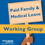 Paid Family and Medical Leave working group graphic.