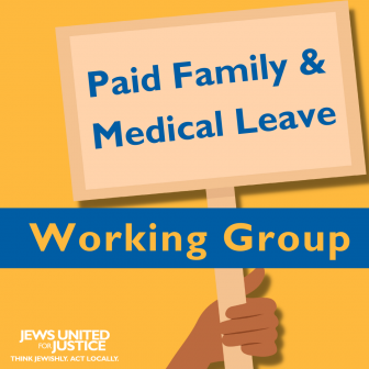 PFML working group graphic in yellow