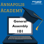 Annapolis Academy General Assembly 101 graphic