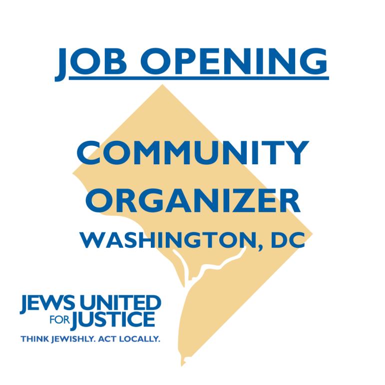 Job Opening: Community Organizer DC
